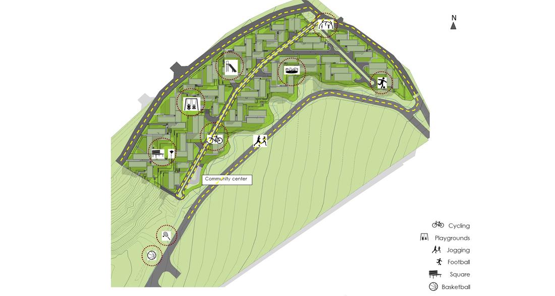Majdelyoun Housing Complex - concept design image