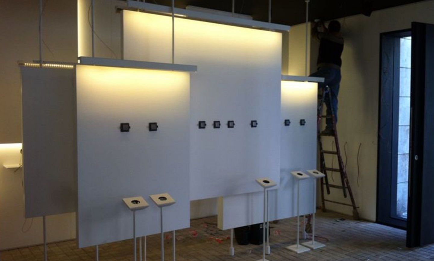 Legrand Concept Store - construction phase image