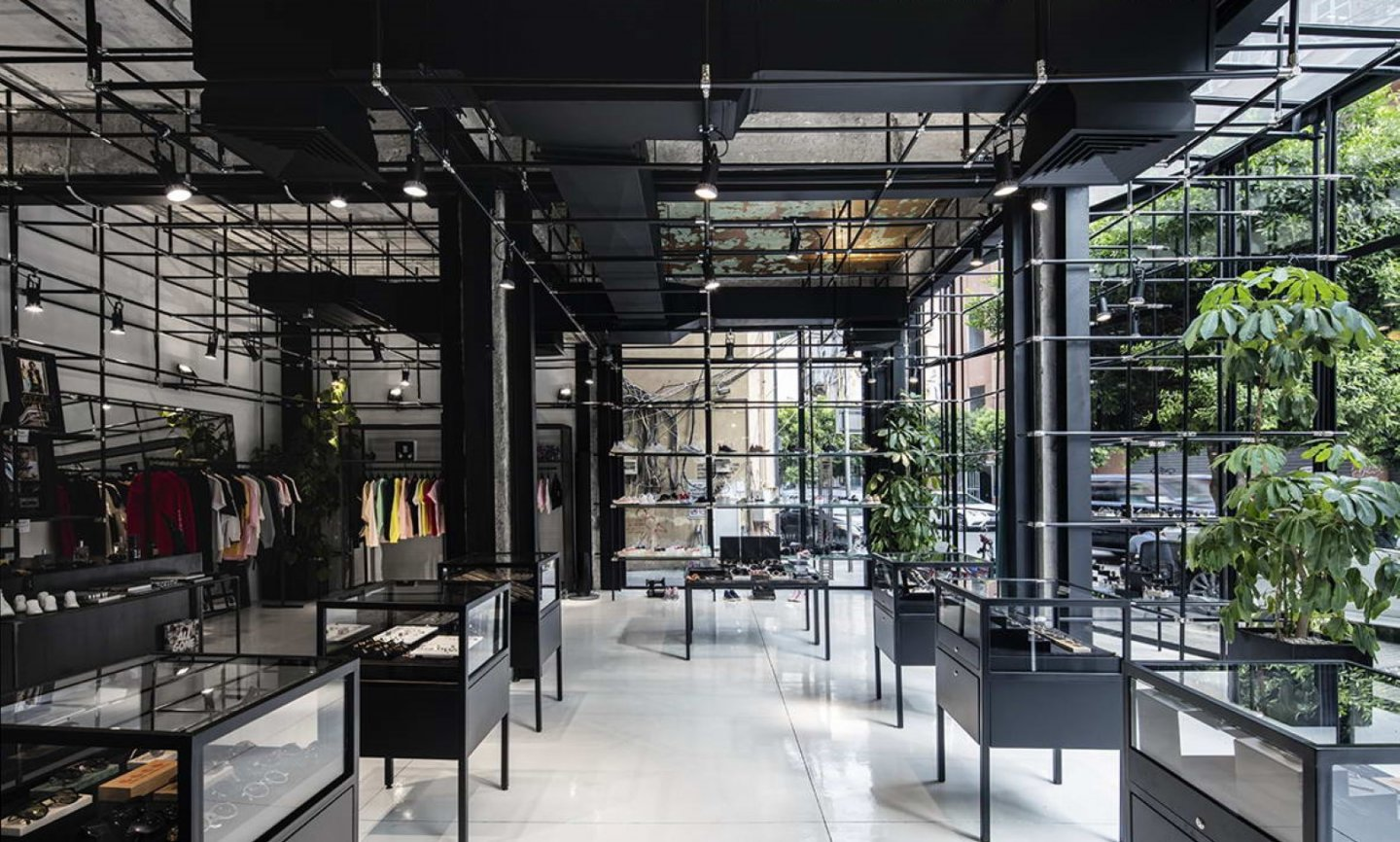 Pop Up Concept Flagship Store - project overview image