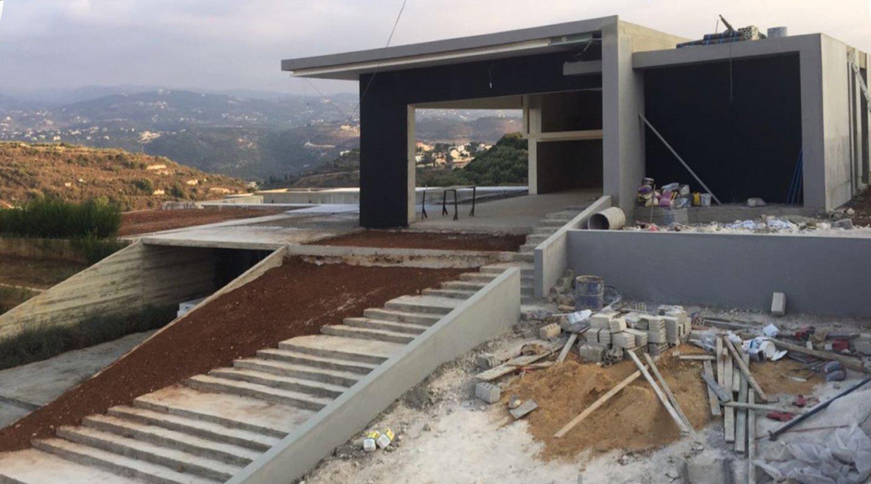 J Residence - construction phase image