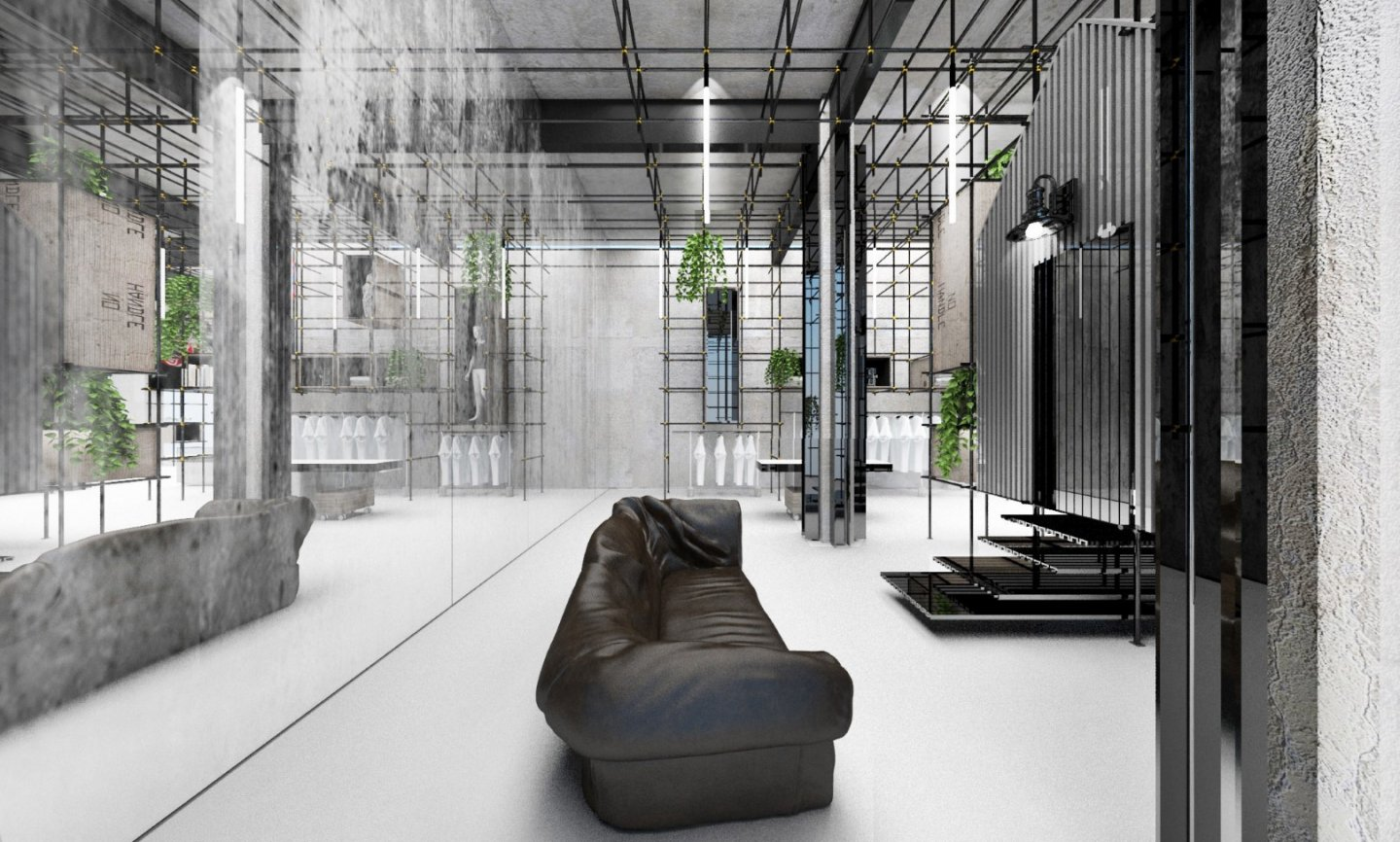 Pop Up Concept Flagship Store - concept design image