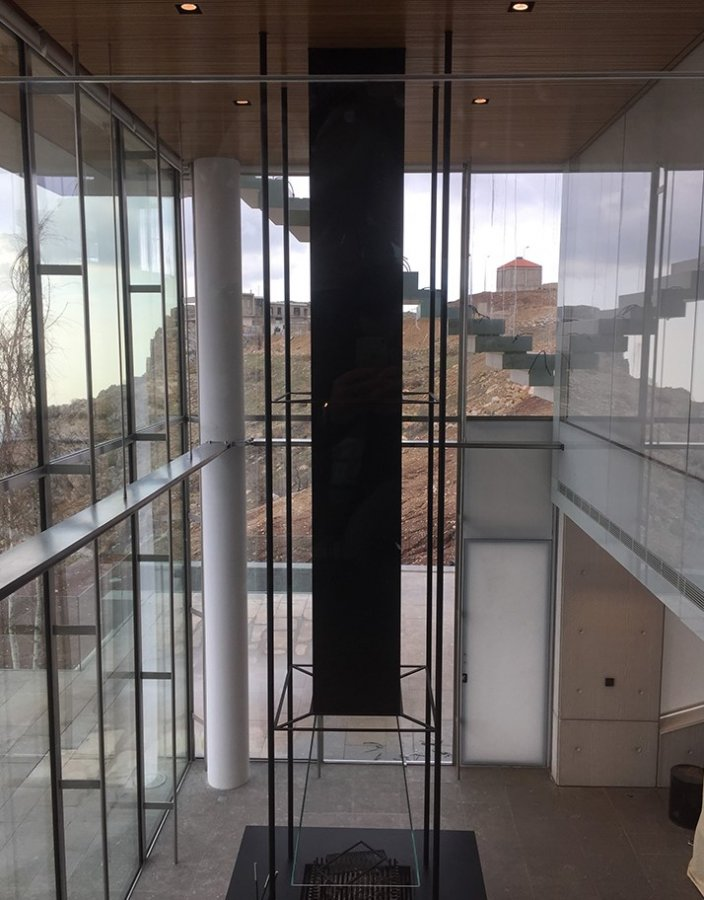 Faqra Cliff - Interior - construction phase image